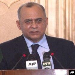 Salman Bashir, ministro dos negócios estrangeiros do Paquistão