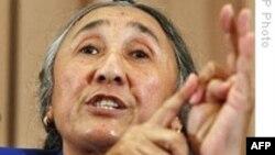 世界維吾爾大會主席熱比婭。(資料圖片)