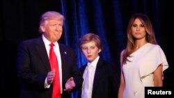 总统当选人川普及其对手克林顿的今昔及家人(66图)