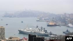 Vladivostok şəhərinin görünüşü