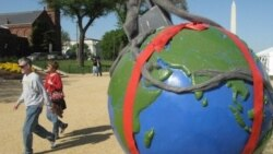 برگزاری مراسم سالگرد روز زمین در آمریکا