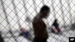 美國加利福尼亞州圣迭戈非法移民羈押中心 - 資料照片