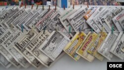Kyrgyzstan media OSCE