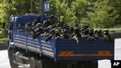 亲俄罗斯武装分子5月26日占据顿涅斯克机场外围阵地