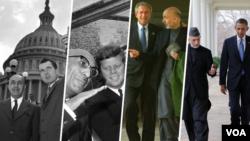 سفر های رهبران افغان به واشنگتن از ۱۹۵۸ تا ۲۰۱۳ میلادی