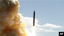 미국의 미사일 방어체제 실험 (자료사진)