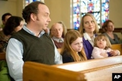 "Paul Giamatti, Clare Foley II, and Amy Ryan in ""Win Win"""