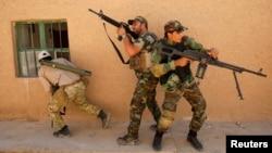 Lực lượng an ninh Iraq, dân quân Shia và các chiến binh người Kurd tham gia cuộc hành quân chống Nhà nước Hồi giáo với sự yểm trợ của không lực Iraq.