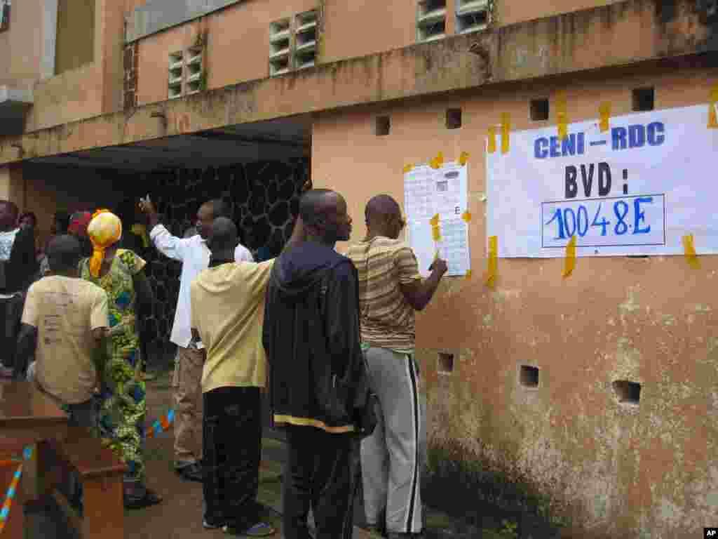 Election Day 3 DRC Kinshasa 28 novembre 2011 NICOLAS PINAULT VOA