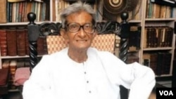 Ashok Mitra former Finance Minister of West Bengal.