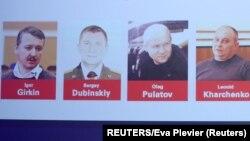 Игорь Гиркин, Сергей Дубинский, Олег Пулатов и Леонид Харченко