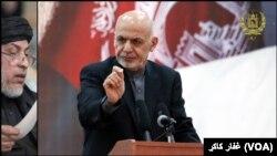 Президент Афганистана Ашраф Гани (архивное фото)