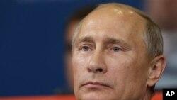Rais wa Russia Vladmir Putin pichani