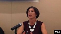 維吾爾人權項目全球倡導主任路易莎·格雷夫(Louisa Greve)(資料照片)