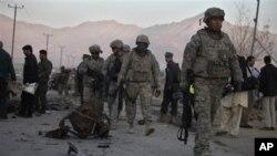 阿富汗境内联军部队