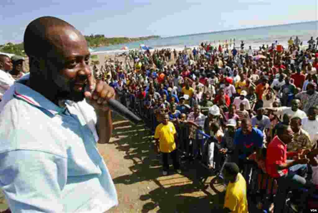 Hip-hop zvijezda Wyclef Jean kandidovao se za predsjednika Haitija.
