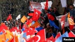 Konya'da AK Partili seçmenler