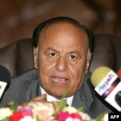 Yamanda vitse-prezident Abdu-Rabu Mansur Hadiy, muvaqqat rahbar