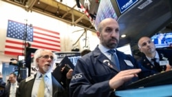 VOA连线(方冰):美国GDP增长强劲,两指数创新高