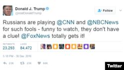 美国总统川普的推特页面
