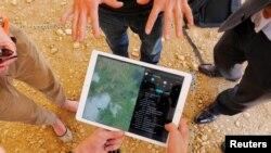 Monitor vasitəsilə dronun səyahətini tam izləmək mümkündür.