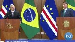 Presidente do Cabo Verde visita Brasil e negocia acordos de livre circulação