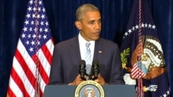 President Obama Reacts to Fatal Shootings