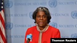 لیندا تامس گرینفیلد، سفیر آمریکا در سازمان ملل