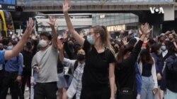 香港民主派阵营寄望于在地方选举中大有斩获