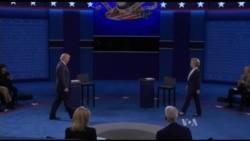 Clinton,Trump Engage in Tense Second Debate