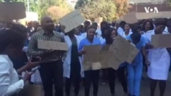 Zimbabwe Doctors Threaten Extended Strike in Protest Over Missing Colleague