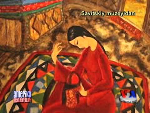 Savitskiy muzeyi rahbari bilan suhbat/Savitsky Museum in Nukus