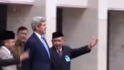ديدار جان کری با دبیرکل سازمان کشورهای آسیای جنوب شرقی