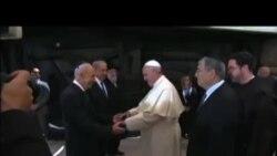 Papa završio posjetu Srednjem Istoku