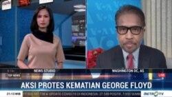 Laporan Langsung VOA untuk Metro TV: Aksi Protes Kematian George Floyd