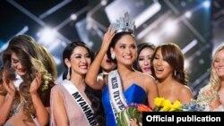 Miss Inivè 2015, Pia Alonzo Wurtzbach (Filipin).