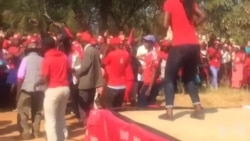 Warming up Stage for Nelson Chamisa
