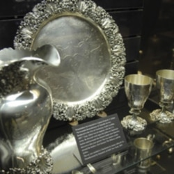 Objects from the Charleston Museum's silver collection