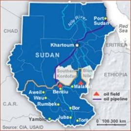 South Sudan Threatens Oil Production Shutdown