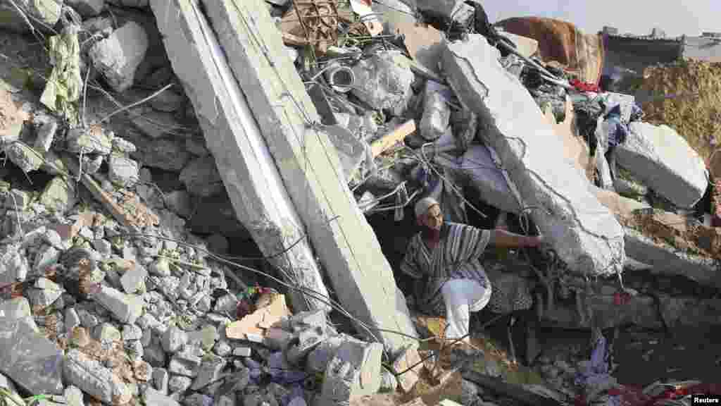 Rafah, Gaza, Yuli 29, 2014.