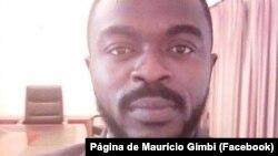 Maurício Gimbi, presidente da União dos Cabindenses para a Independência (UCI), Angola