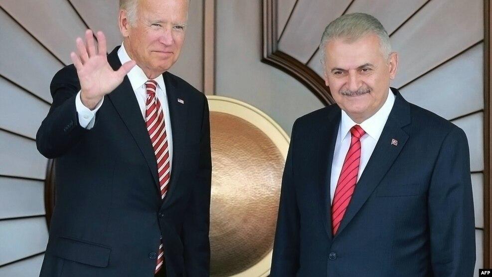 Znalezione obrazy dla zapytania Joe Biden Ankara