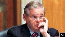 Senator Robert Menendez (file photo)