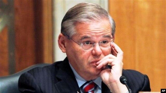 FILE - Senator Robert Menendez