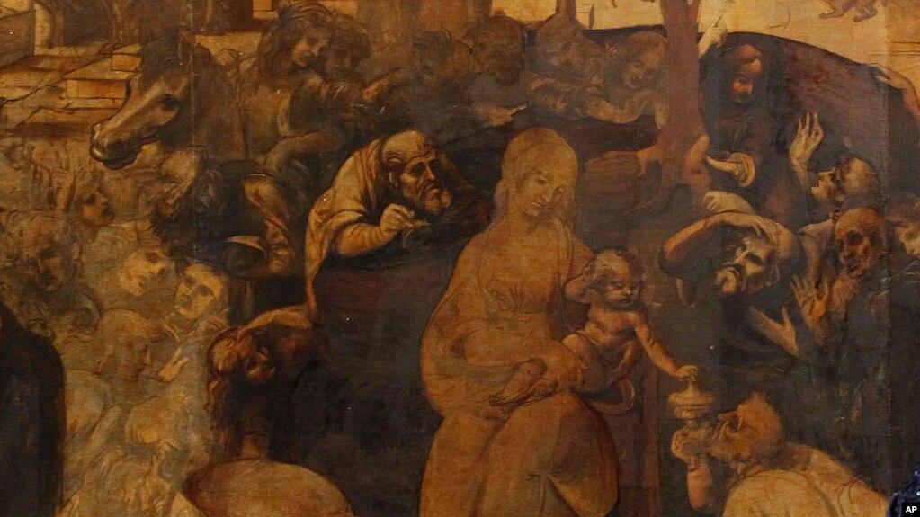 Italy Leonardo Restoration تابلوی «ستایش مغان» لئوناردو داوینچی