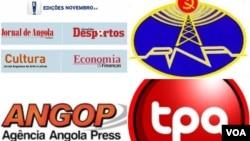 Comunicação social estatal angolana