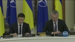 Підсумки візиту генерального секретаря НАТО до Києва. Відео