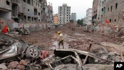 Bangladesh to End Search for Building Collapse Victims