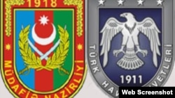 Türkiyə və Azərbaycan Hərbi Hava Qüvvələrinin emblemləri