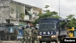 Bamwe mu ba Polisi ba Cote d'Ivoire